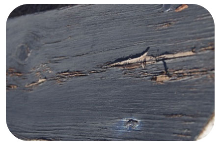 An example of rotten mock tudor boards